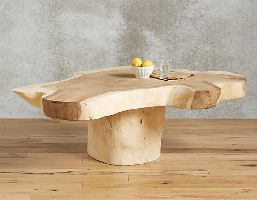 20 best live edge coffee tables designs images With anthropologie live edge coffee table