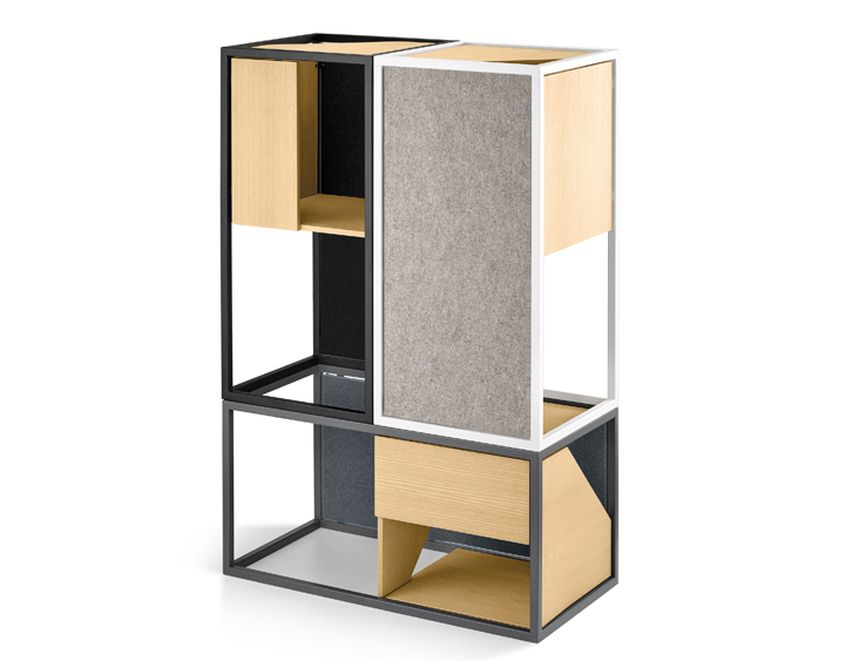 MiaCara's Albergo modular cat tree suits modern interior landscape