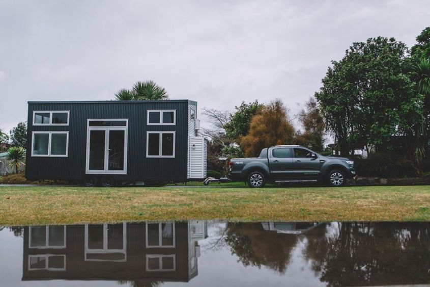 Millennial tiny home on wheels by Build Tiny