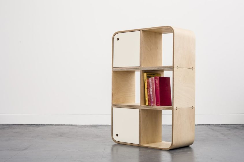 Modular shelf from Lozi Designs