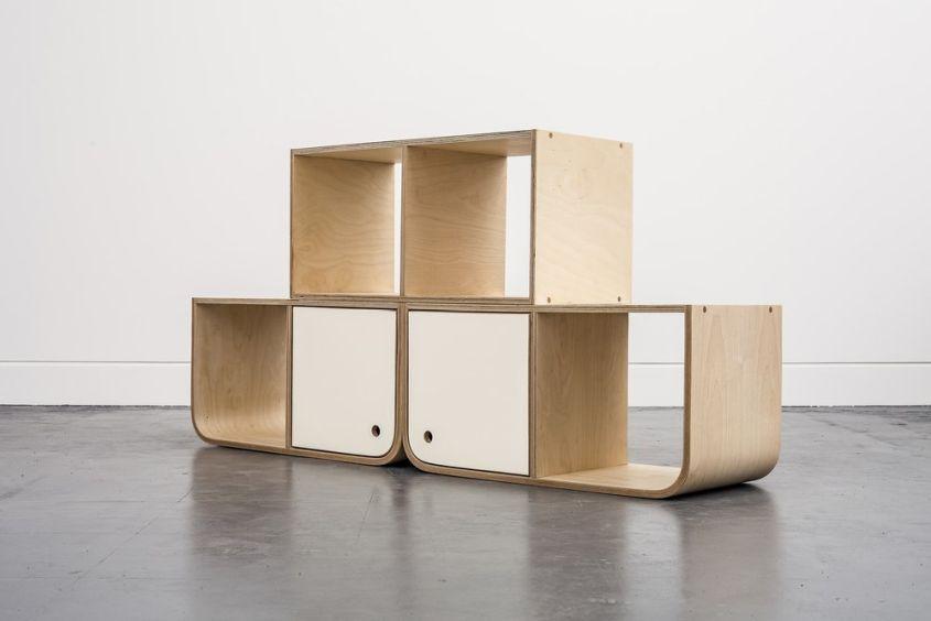 Modular shelf from Lozi Designs