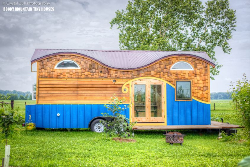 Pequod tiny home on wheels