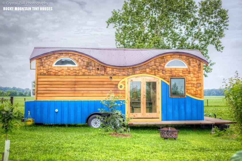 Pequod tiny home on wheels