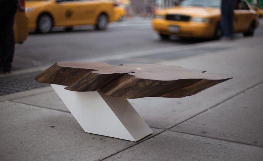 Sentient Zora live edge coffee table
