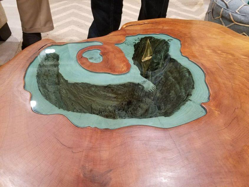 The Caldera Lake Table