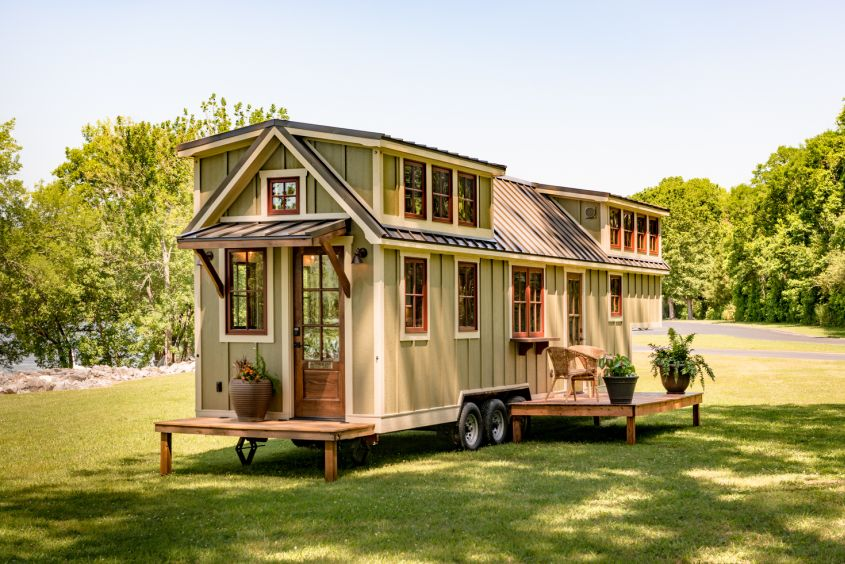 The Denali Tiny house on wheels