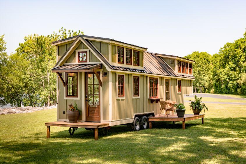 The Denali Tiny house on wheels