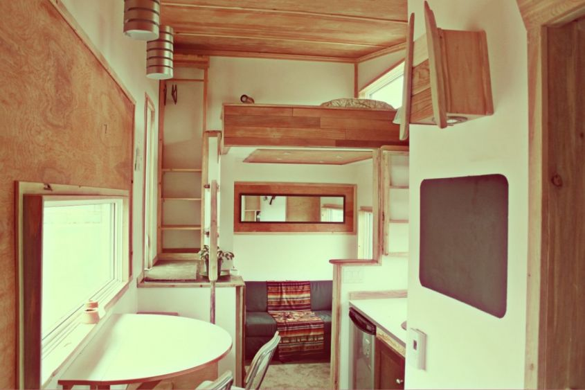 Tiny Home on Wheels from Leaf House