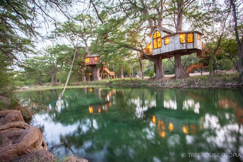 Treehouse Utopia- Pete Nelson's Romantic Vacation Retreat for Laurel Tree Restaurant