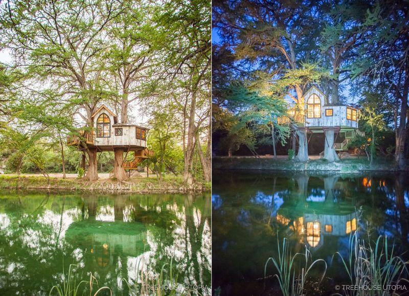 Treehouse Utopia- Pete Nelson's Romantic Vacation Retreat for Laurel Tree Restaurant