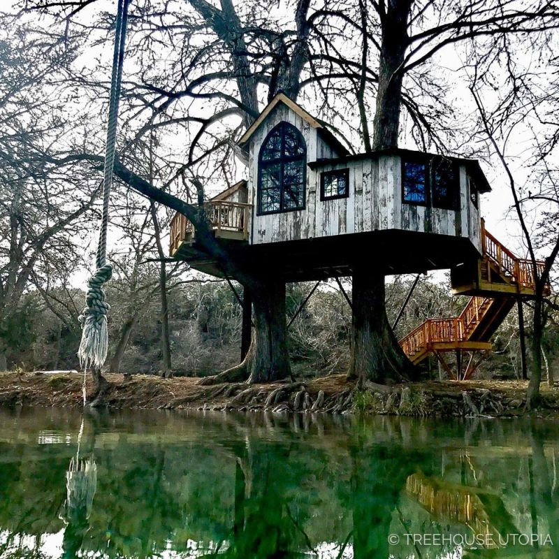 Treehouse Utopia: Pete Nelson's romantic vacation retreat for Laurel Tree Restaurant