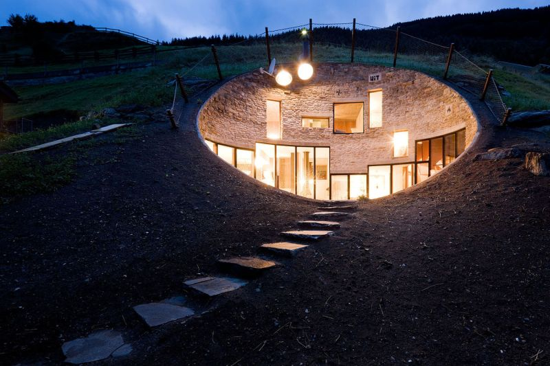 Best earth sheltered homes