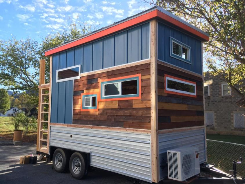 98 squared LLC, tiny house on wheels