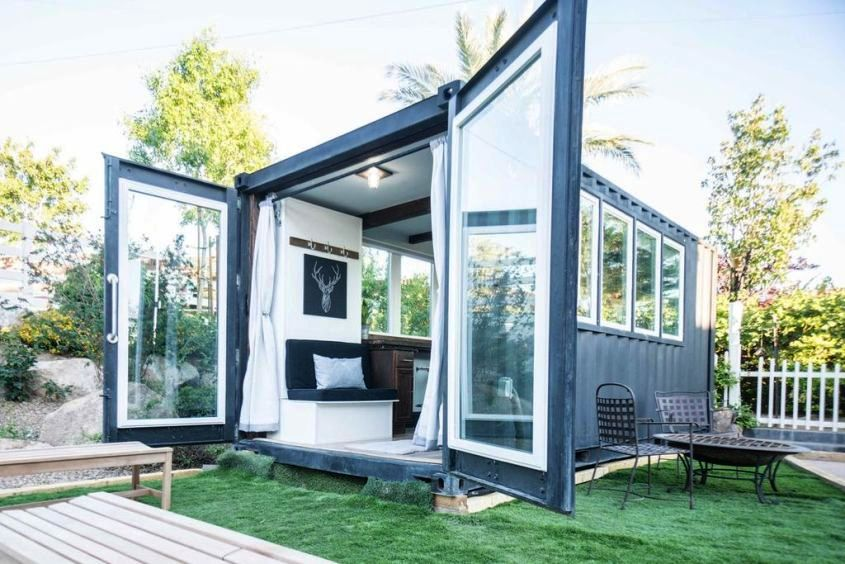Peachy 30 Green Shipping Container Homes That Promote Sustainable Home Interior And Landscaping Ologienasavecom