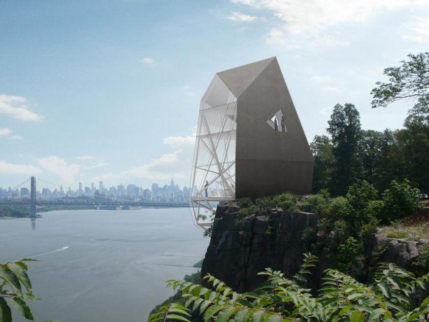 Axis Mundi's Polyhedra House