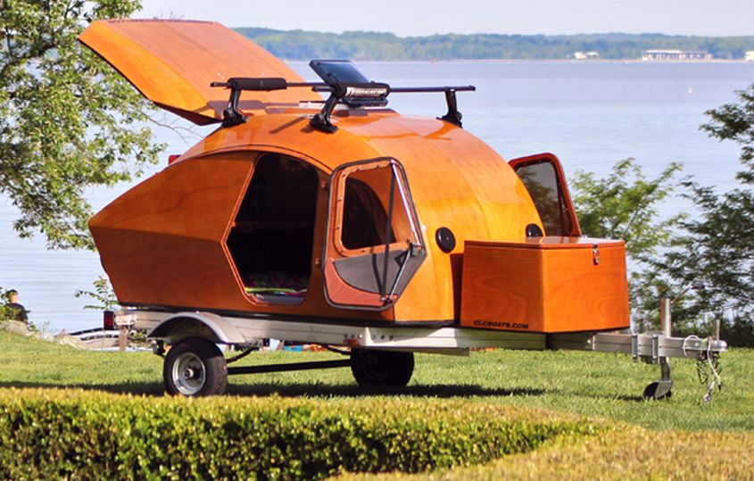 CLC Teardrop Camper from Chesapeake Light Craft