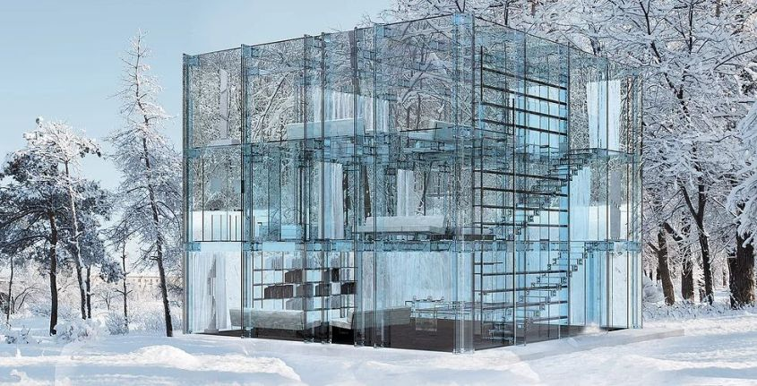 Glass House by Santambrogio Milano