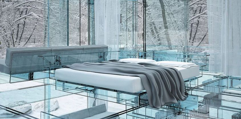 Glass House by Santambrogio Milano