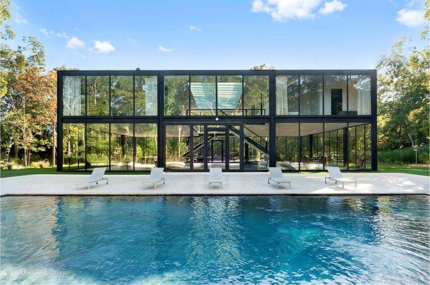 Glass house by Jeff Smilow