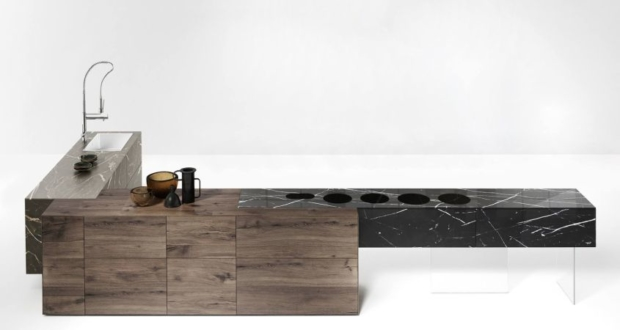 Lago Debuting Fusion Kitchen Island at Salone del Mobile 2018
