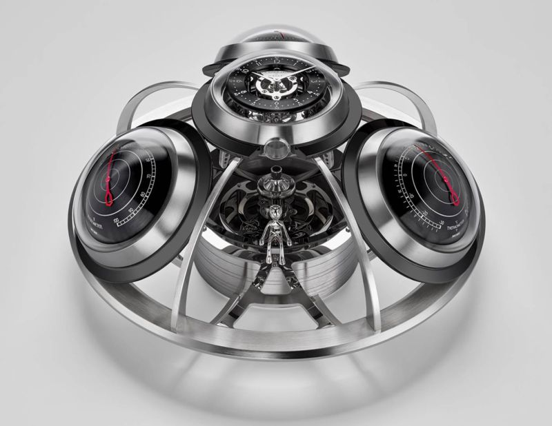 MB&F The Fifth Element desk clock - Portable weather station