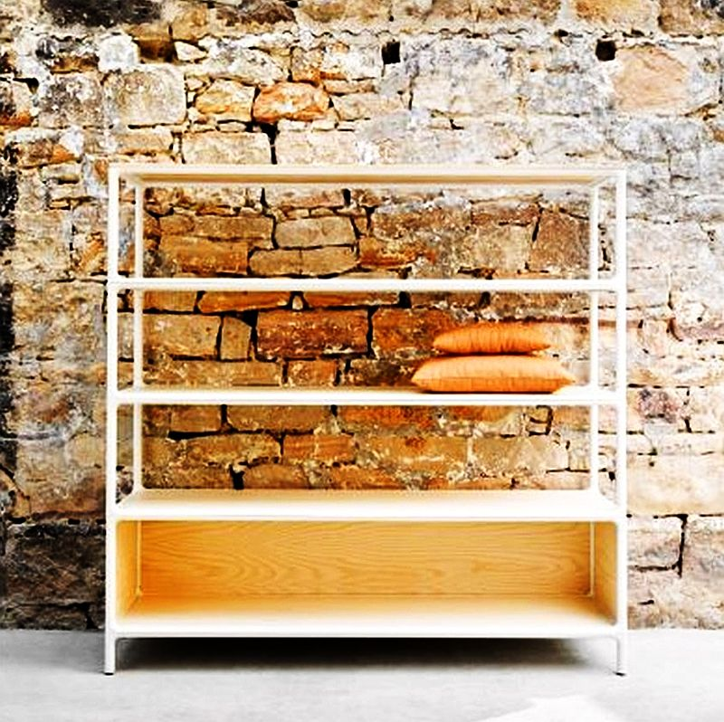 Molloy modular shelving by Adam Goodrum