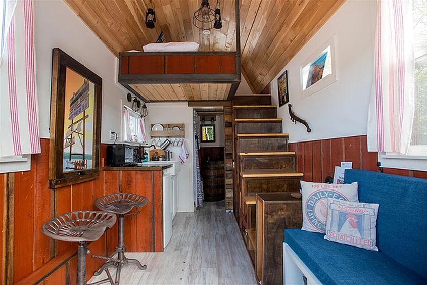 Red Barn Tiny House from Tiny Digs