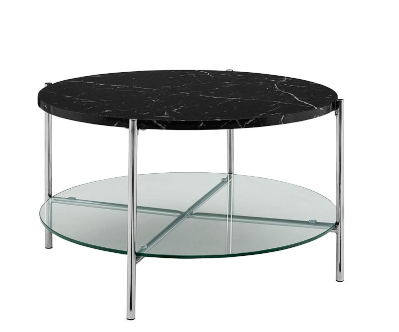 Round Coffee Accent Table