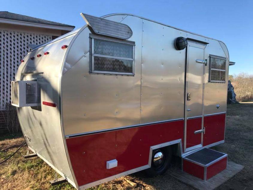 Stacey Vining's vintage camper