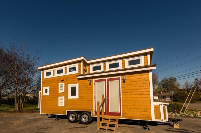 The Nooga Blue Sky from Tiny House Chattanooga