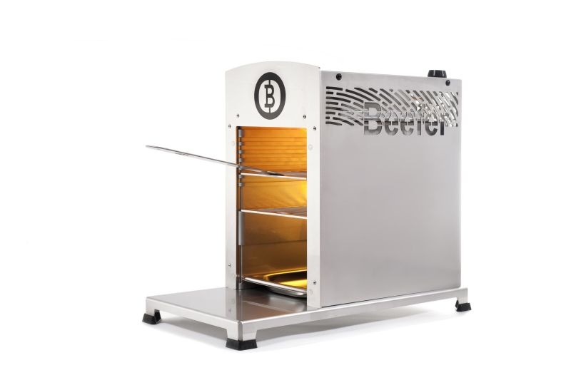 Beefer Grills Your Food at 800 Degrees Celsius