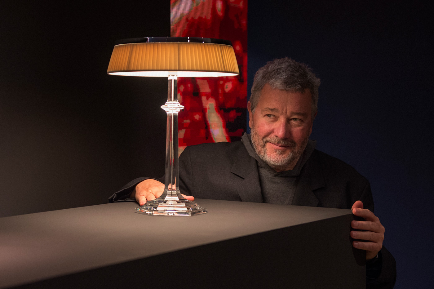 Bon Jour Versailles Glass Table Lamps by Philippe Starck