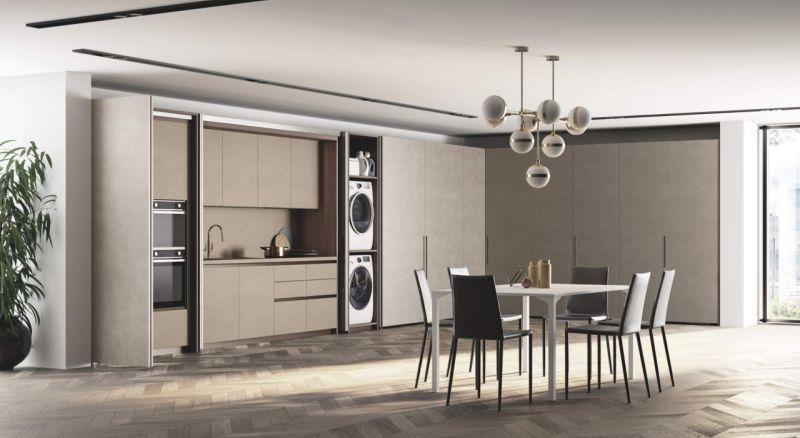 Box Life kitchen island by Scavolini