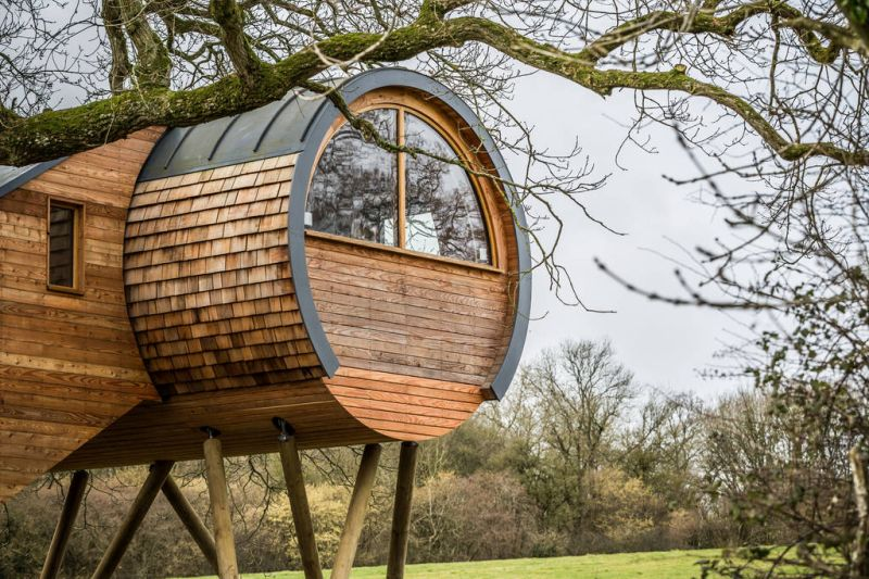 Cheriton Treehouse in Somerset