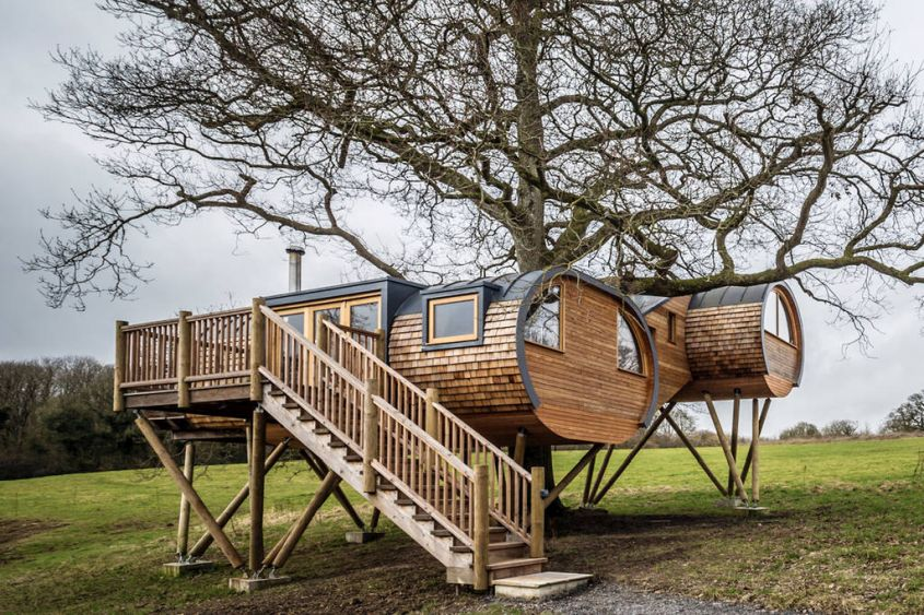 Cheriton Treehouse In Somerset Is Dope For Nature Lovers
