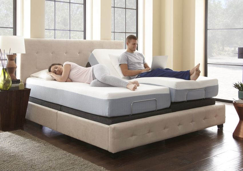 Eco-Lux+Adjustable+Bed+Base