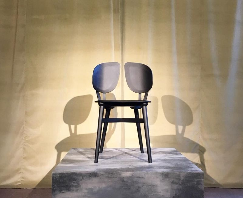 Filla Chair by Michele de Lucchi for Very Wood Mimics Natural Beauty of Tree