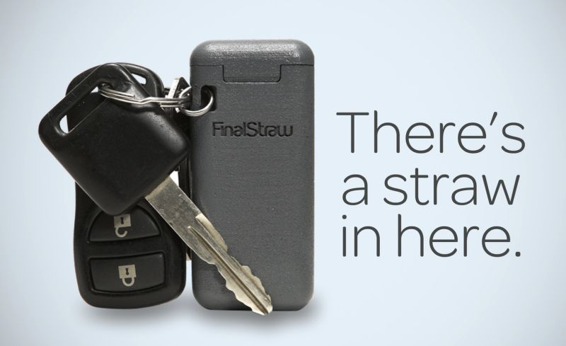 FinalStraw Worlds First Collapsible Folding straw
