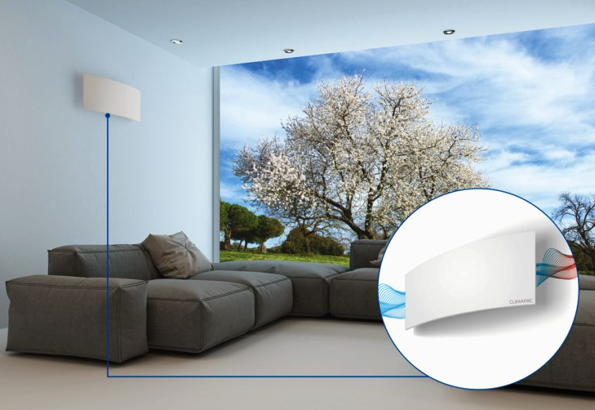 Glider Ventilation System by Climapac has Built-In Speakers and Lights