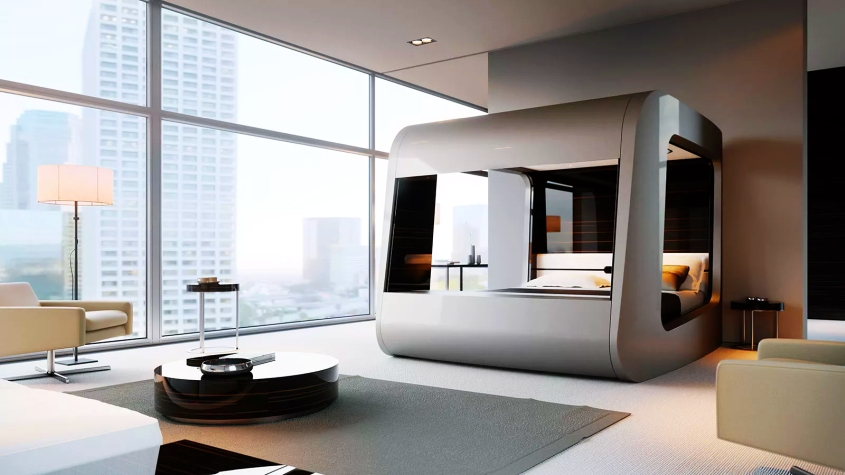 HiCan Smart Bed by Hi-Interiors