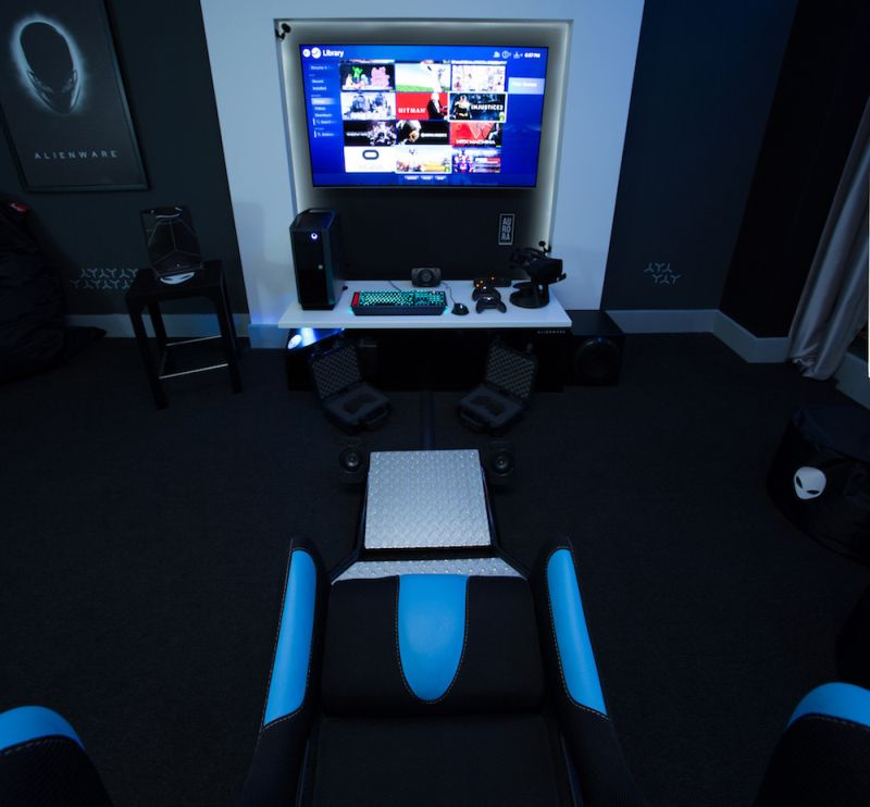 Hilton Panama S Alienware Room For Game Crazy Travelers