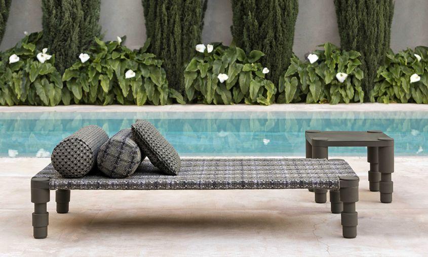 Indian Handloom-Inspired outdoor furniture