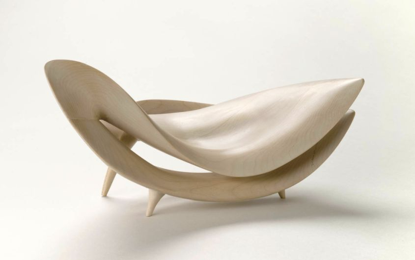 Infinity-Shaped Armchair by Gildas Berthelot