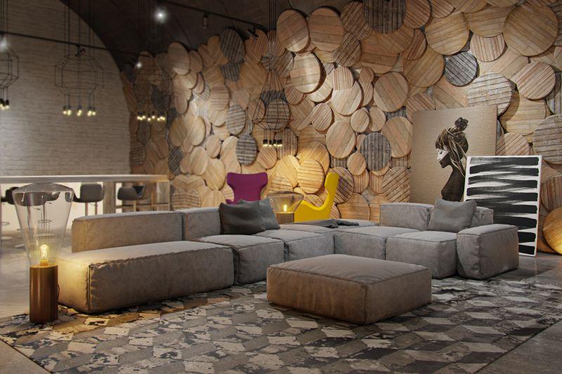 Interior decor tricks - Choose wall texture