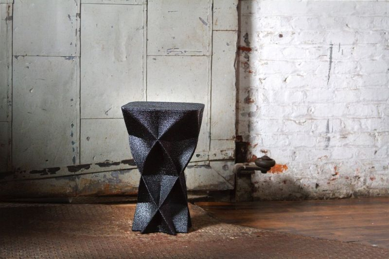 One-off 3D-Printed Stools from Budmen Industries