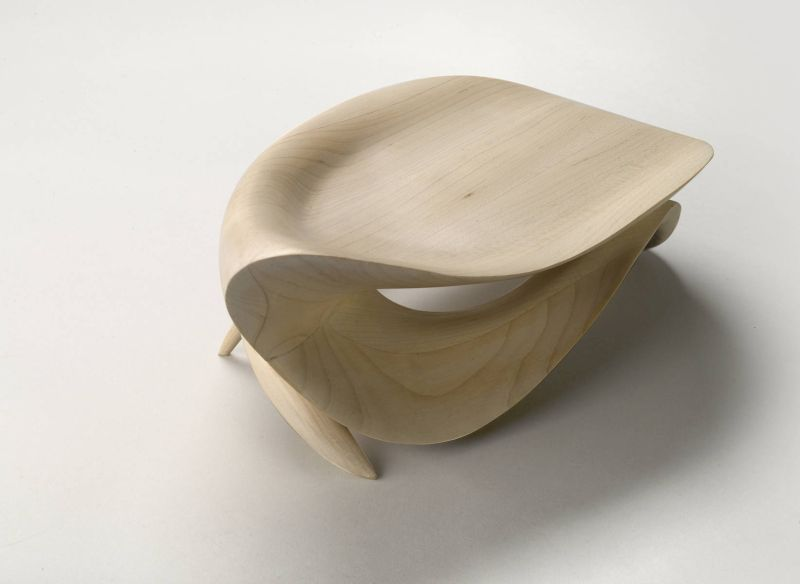 Infinity Shaped Armchair by Gildas Berthelot of Galerie BSL