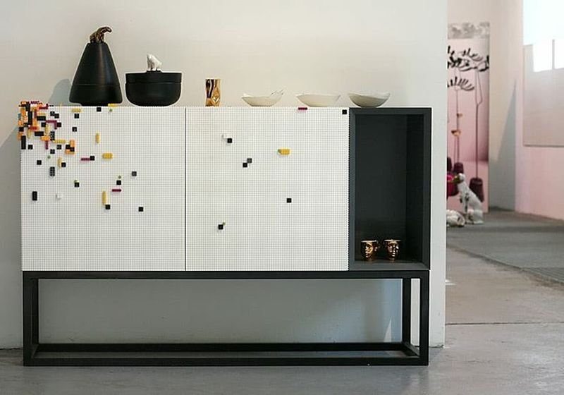Lego-compatible furniture by Nine Associati
