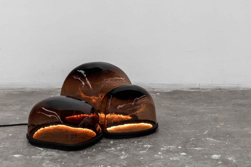 Alquimia collection by Ewe Studio boasts beauty of volcanic rock