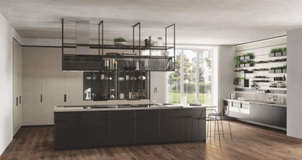 Mia Kitchen Island by Carlo Cracco for Scavolini