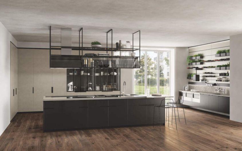 Mia Kitchen Island by Carlo Cracco for Scavolini